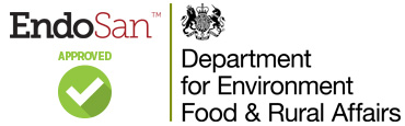 DEFRA approves EndoSan for Disinfection