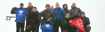 EndoSan product manager raises £5k completing the National Three Peaks Challenge