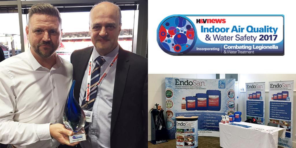 EndoSan wins Legionella Product of the Year