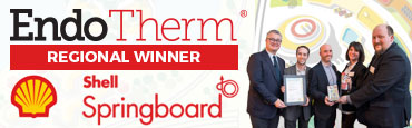 EndoTherm Regional Winner of Shell Springboard Award