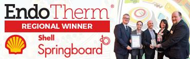 EndoTherm Regional Winner of Shell Springboard Award