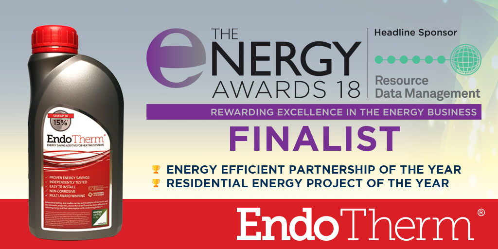 EndoTherm double finalist for Energy Awards 2018