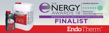 EndoTherm Double Finalist in The Energy Awards 2018