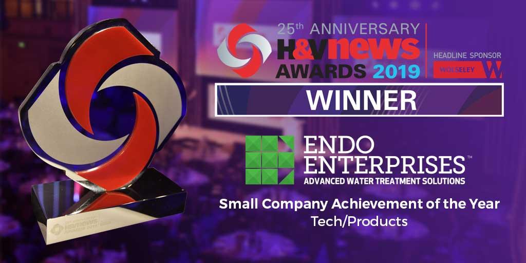 Endo Enterprises Winner of H&V News Award 2019