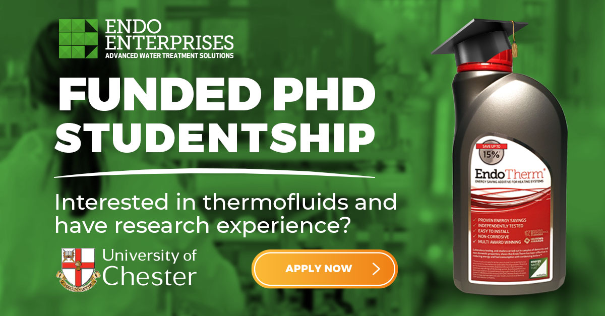 Endo Enterprises Funded PhD - Apply Now!