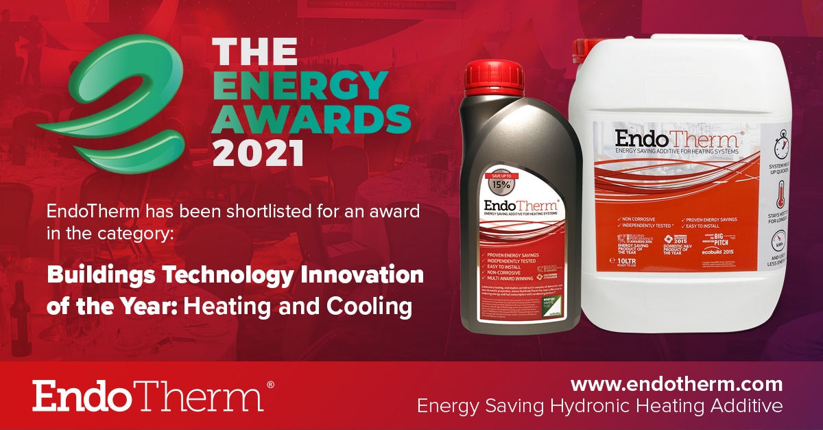 EndoTherm Finalist of Energy Awards 2021