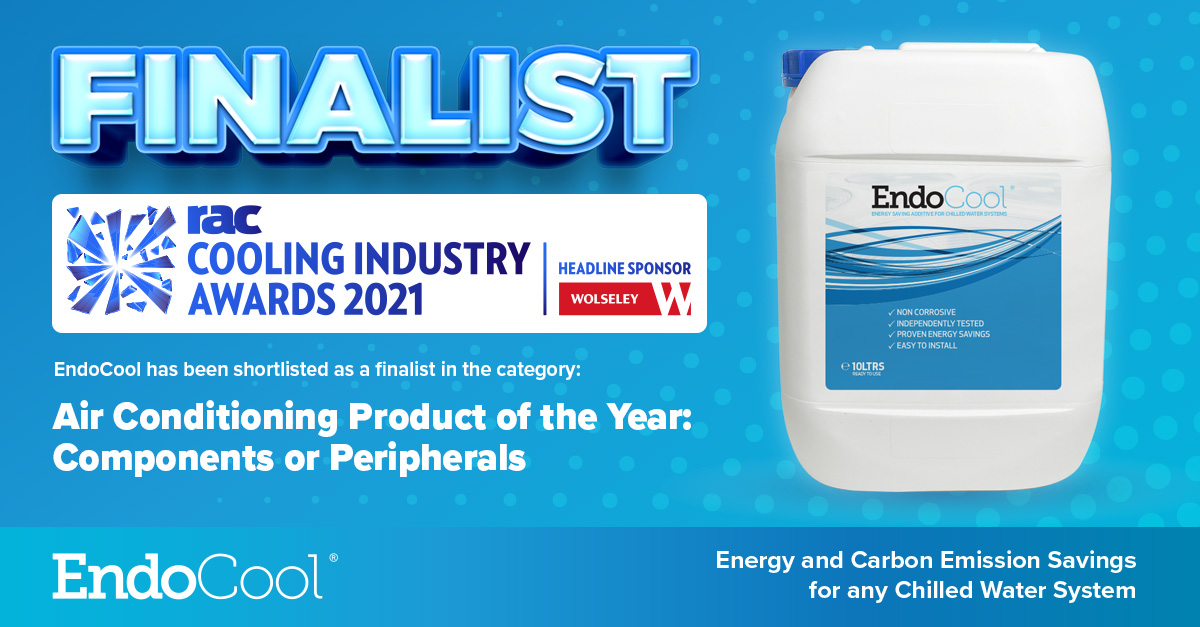 EndoCool Finalist in RAC Cooling Awards 2021